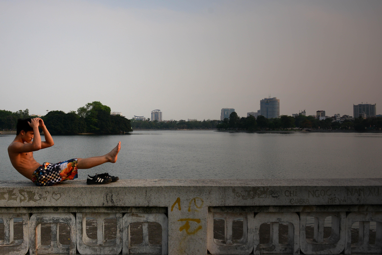 A day around the lakes of Hanoi