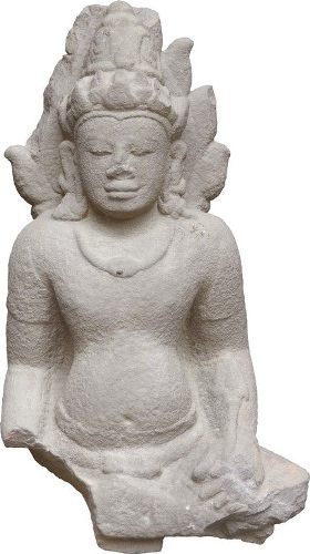 Male God Statue, one of the antiquities to be displayed at the museum.