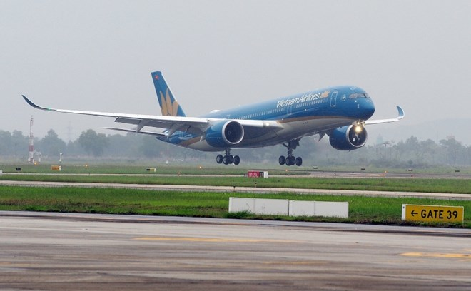 Vietnam Airlines receives another Airbus A350