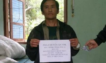Alleged meth smuggler arrested in central Vietnam