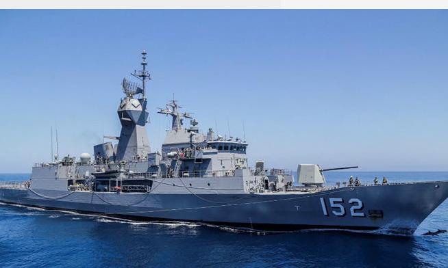 Australian warship makes port call in central Vietnam