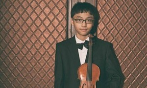 Vietnamese prodigy wins int'l violin contest