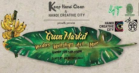 Hanoi Creative City: Green Market