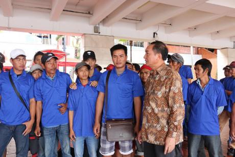 Indonesia sets 39 Vietnamese fishermen free