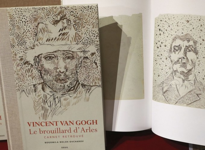 Experts war over whether 'lost' Van Gogh notebook is real