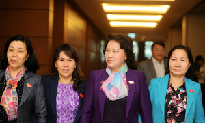 Hillary Clinton lost but how well are Vietnamese female politicians doing?