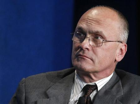 Andrew Puzder, CEO of CKE Restaurants. Photo by Reuters/Fred Prouser/File Photo