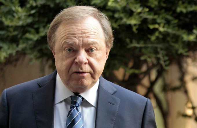Oklahoma oilman Harold Hamm. Photo by Reuters/Steve Sisney/File Photo