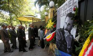 Cuban embassy opens doors to mourners in Hanoi
