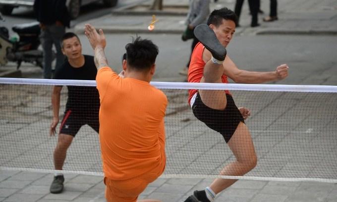 Kickin' it old school: Vietnam's ancient foot badminton