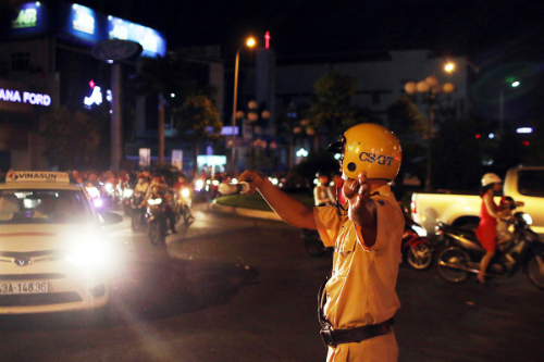 Da Nang police use Facebook to get traffic updates from local people