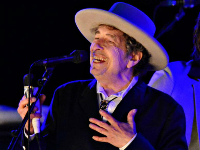 Nobel Literature Prize winner Bob Dylan. Photo by Reuters