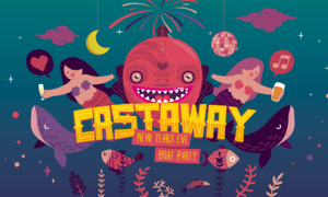New Year's Eve: Castaway Boat Party