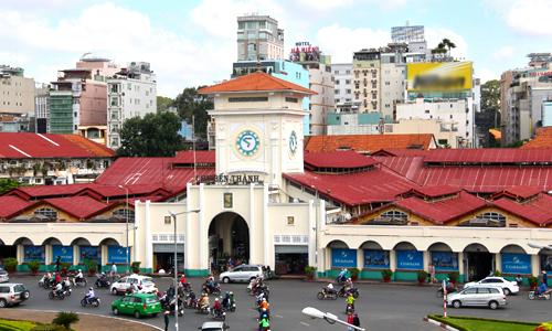 HCMC plans underground shopping complex near iconic market
