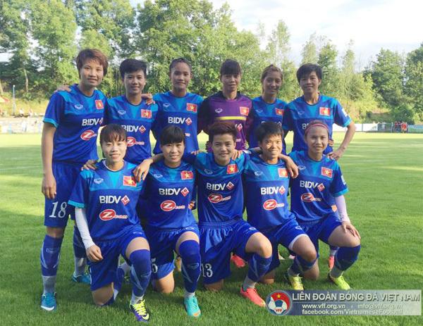 Vietnam climbs in women's soccer ranking