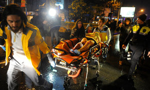 At least 35 killed, 40 wounded in Istanbul nightclub 'terror attack'