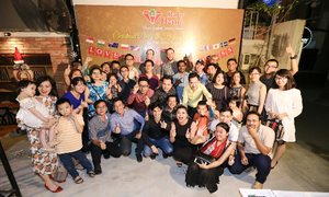 Home away from home: Expats celebrate New Year at the cozy Ruby Home Vietnam