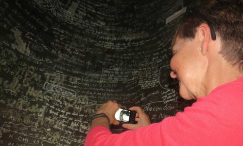 Vietnamese vandals deface centuries-old pagoda bell, a national treasure