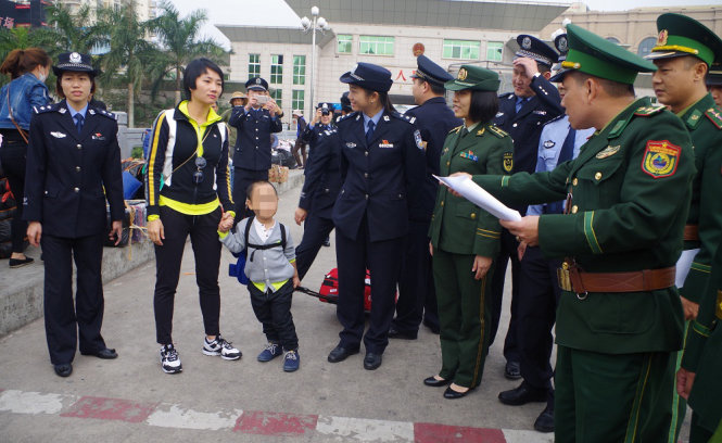 Vietnamese boy rescued after trafficked to China by mother's friend