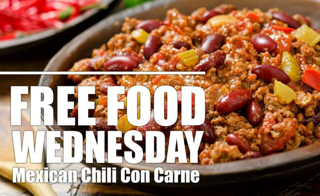 free-food-wednesday-mexican-chili-con-carne