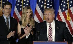Trump's son-in-law Kushner to become senior White House adviser