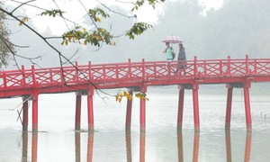 Hanoi going back to winter weather after foggy days