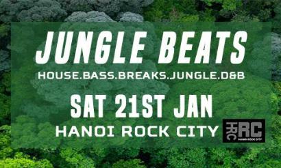 Jungle beats at Hanoi Rock City - VnExpress International