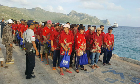 Indonesia to release 165 Vietnamese fishermen before Lunar New Year