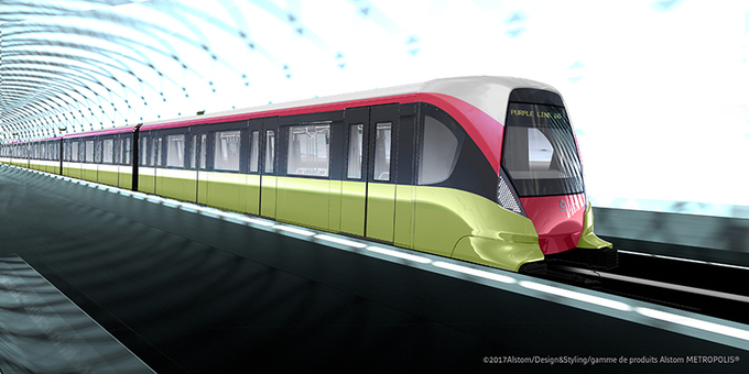 This is what Hanoi's first subway train may look like