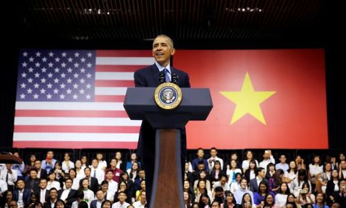 Obama visit shows Vietnam is now a country, not a war