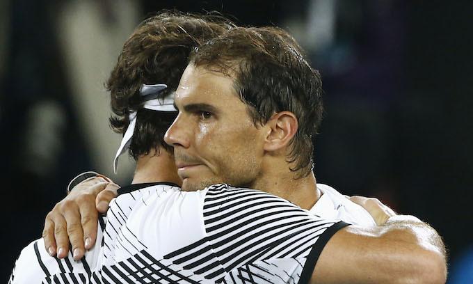 Federer outlasts Nadal in Melbourne for 18th grand slam