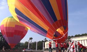 Want to see Saigon from a hot air balloon?