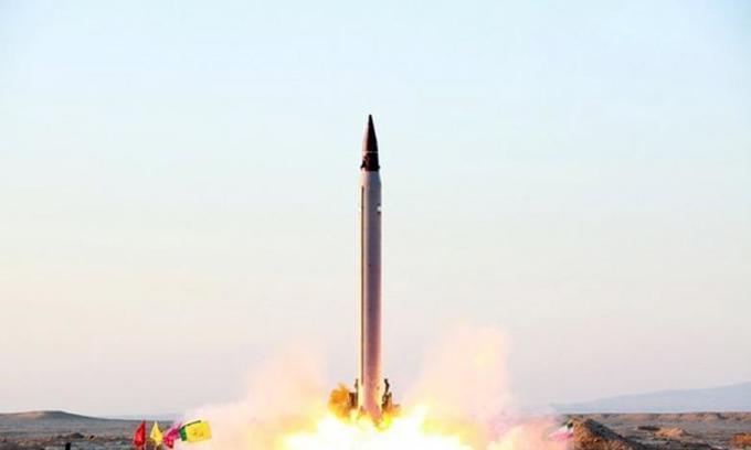 Iran tested medium-range ballistic missile -U.S. official