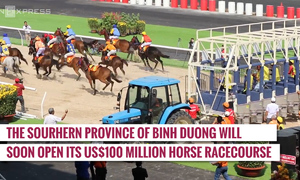 First look at Vietnam's brand new $100 million racetrack
