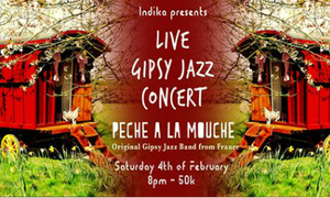 Indika Live Gypsy Jazz Concert