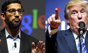 US tech titans lead legal brief against Trump travel ban