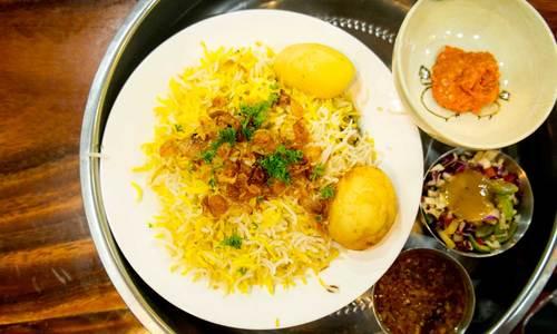 Biryani at the Bawa's