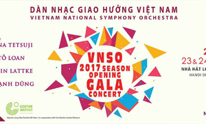 Concert: Martin Lattke and the Vietnam National Symphony Orchestra
