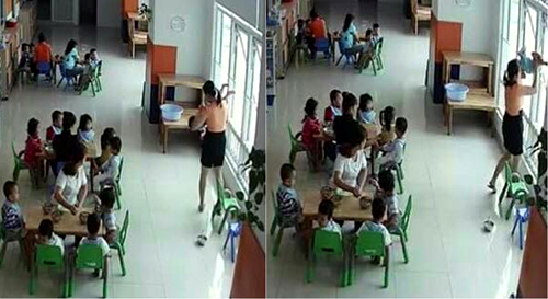 kindergarten-teacher-suspended-for-threatening-to-throw-kid-out-of-window-in-saigon