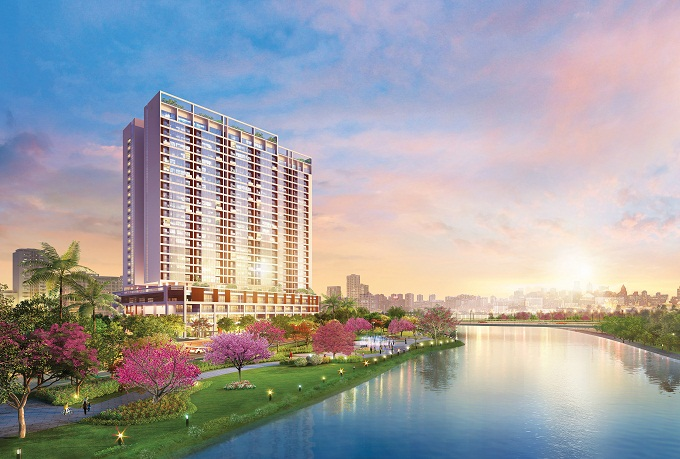The Grande, the first apartment building at Phu My Hung Midtown complex, will be launched in the first quarter of 2017.
