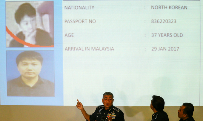 Malaysia requests Interpol alert on four N.Koreans over airport murder