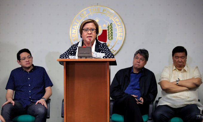 Top Philippine drug war critic arrested at Senate - AFP