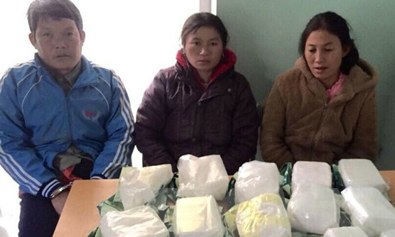 Meth smuggling ring busted in central Vietnam