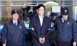Samsung heir indicted for bribery, embezzlement - prosecutors