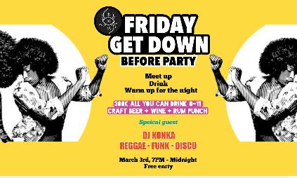 Friday Get Down at Indika - Before Party feat. DJ Konka