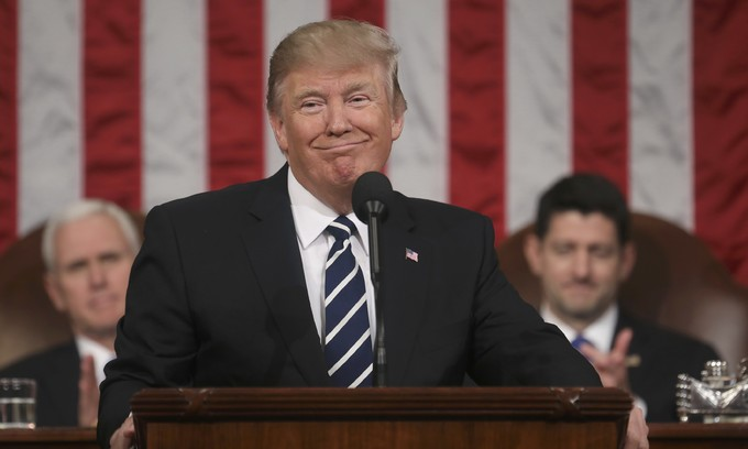 Trump softens immigration stance, takes measured tone in speech
