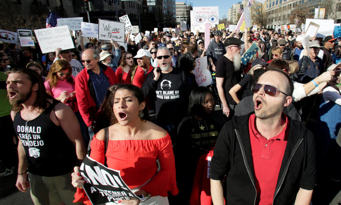 Hatred, prejudice on rise in Trump's America - poll