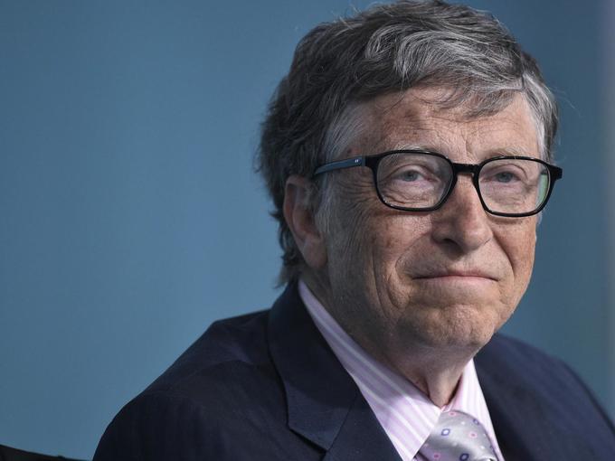 Bill Gates again world's richest man; Trump slips