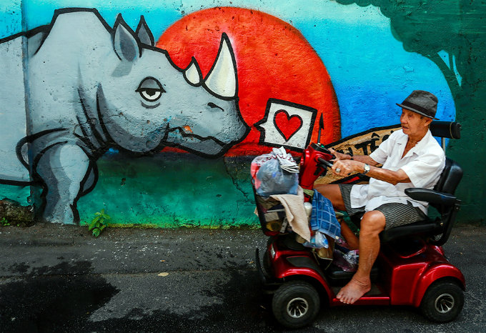 colorful-rhinos-storm-saigon-alleys-with-a-message-save-them-5