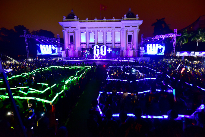 The 60+ message was sent out to everyone emphasising Earth Hour is not just for 60 minutes.